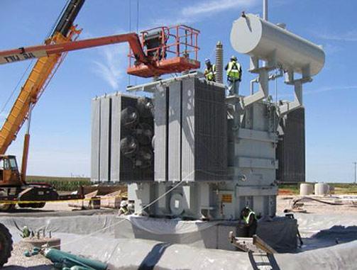 Силовые транформаторы, автотрансформаторы и масляные реакторы